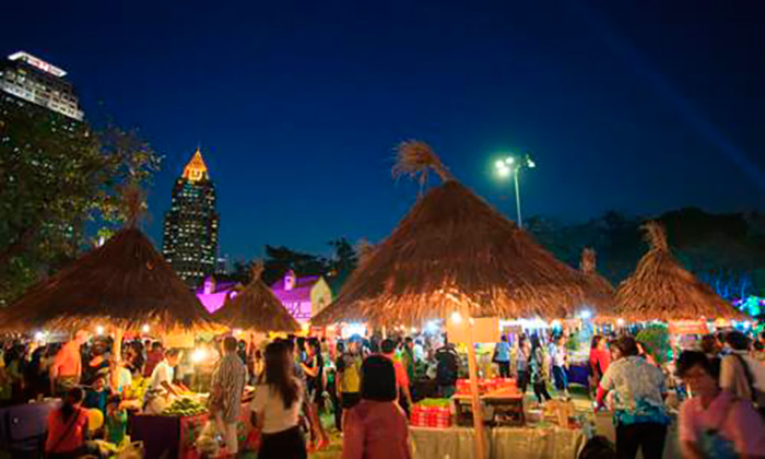 Парк Люмпини Фестиваль туризм Тайланда 2016