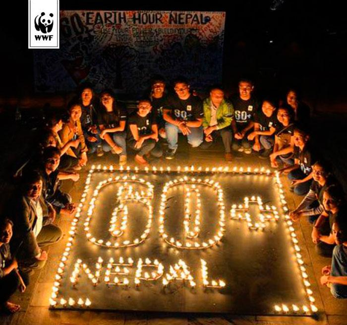 ВМоскве стартовала экологическая акция Часа Земли