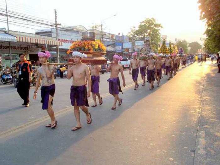 Сонгкран в Тайланде