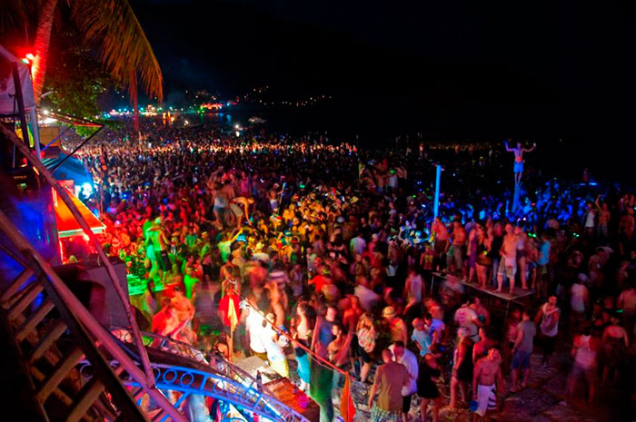 Full Moon Party на Пангкане