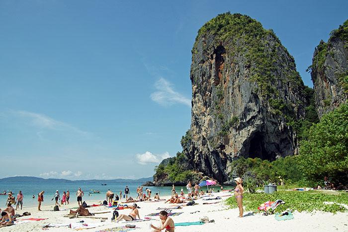 Пляж Прананг на Краби
