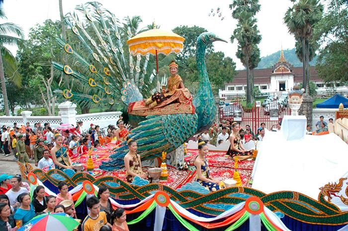 Новый год в Лаосе