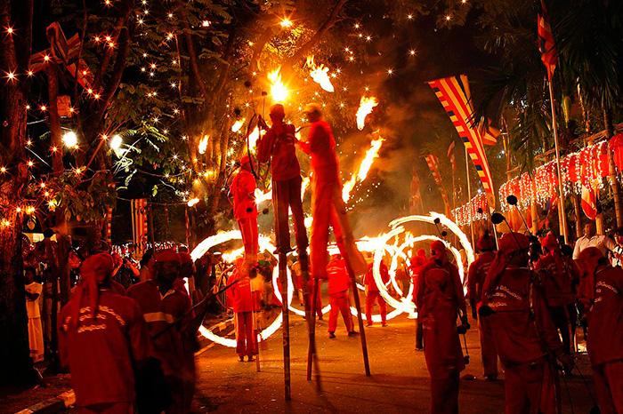 Новый год на Шри Ланке