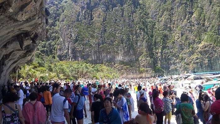 Туристический сезон 2014/2015 года. Острова Пхи-Пхи
