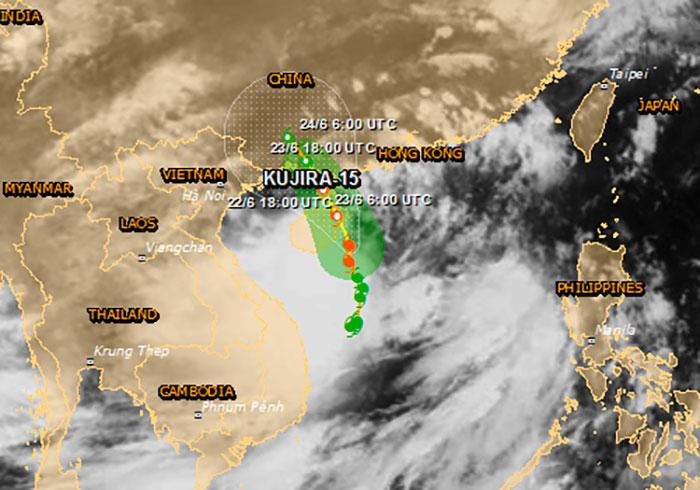 Тропический шторм Хайнань