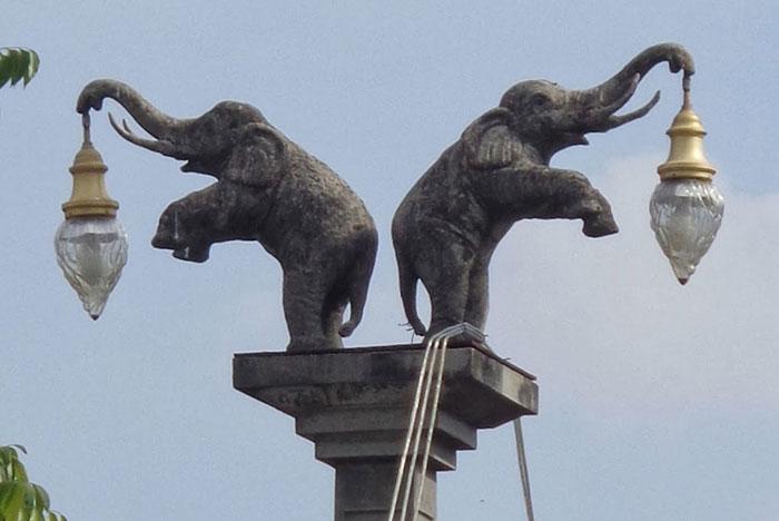 Необычные скульптуры на Краби