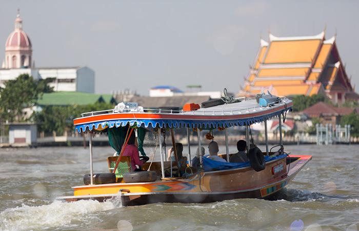 Водные туристические маршруты по реке Чао Прайя