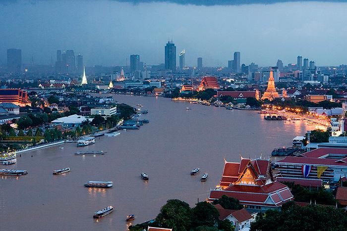 Река Чао Прайя Бангкок