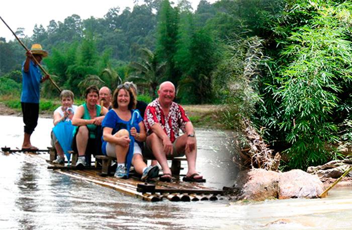 Чанг Май, размеренный сплав по реке