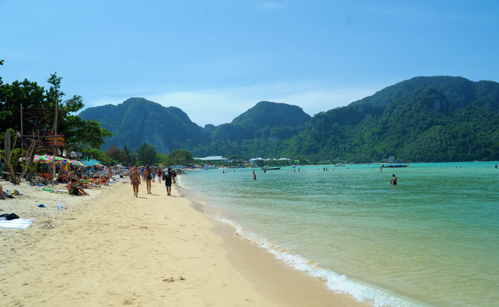 Пляж Лодалум Бэй на Пхи-Пхи