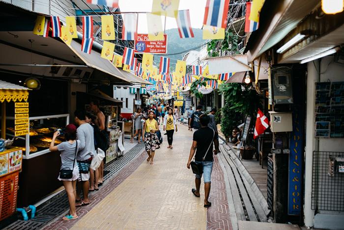 Ао Тон Сай - лабиринт магазинов
