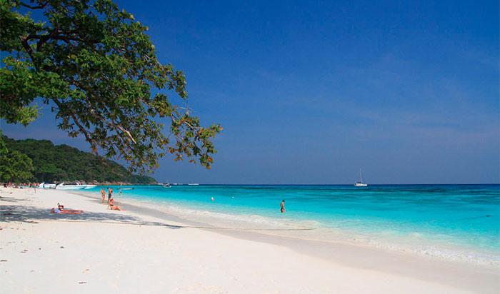 Ко Тачай, Андаманское море