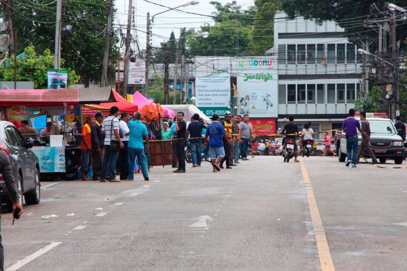 Нарынке Таиланда произошел взрыв