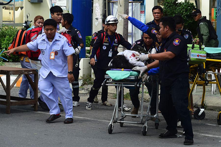 ВТаиланде произошел взрыв, есть пострадавшие