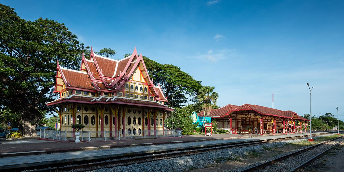 Исторически бесценный железнодорожный вокзал Хуа Хина.