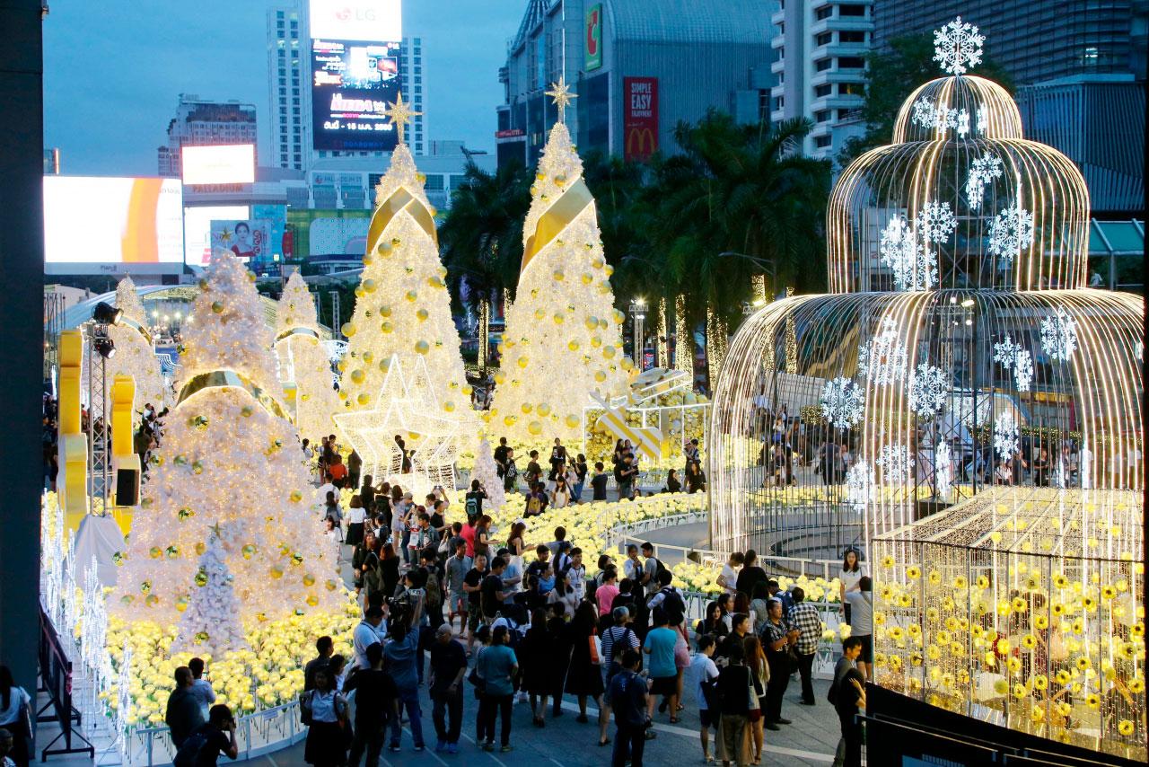 Новогодний Central World в Бангкоке. Фото The Nation