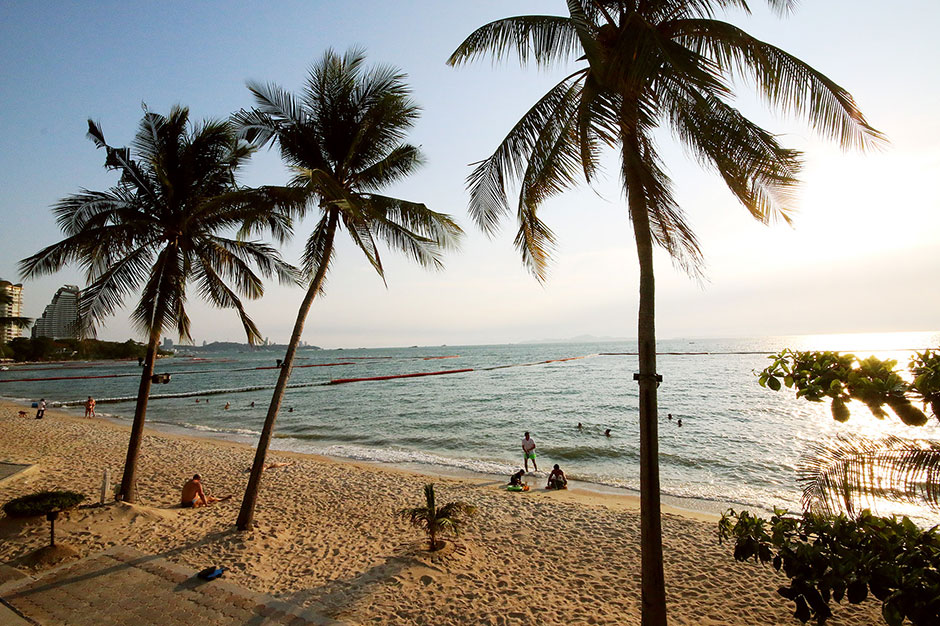 Паттайя. Пляж отеля Pullman Hotel G Pattaya