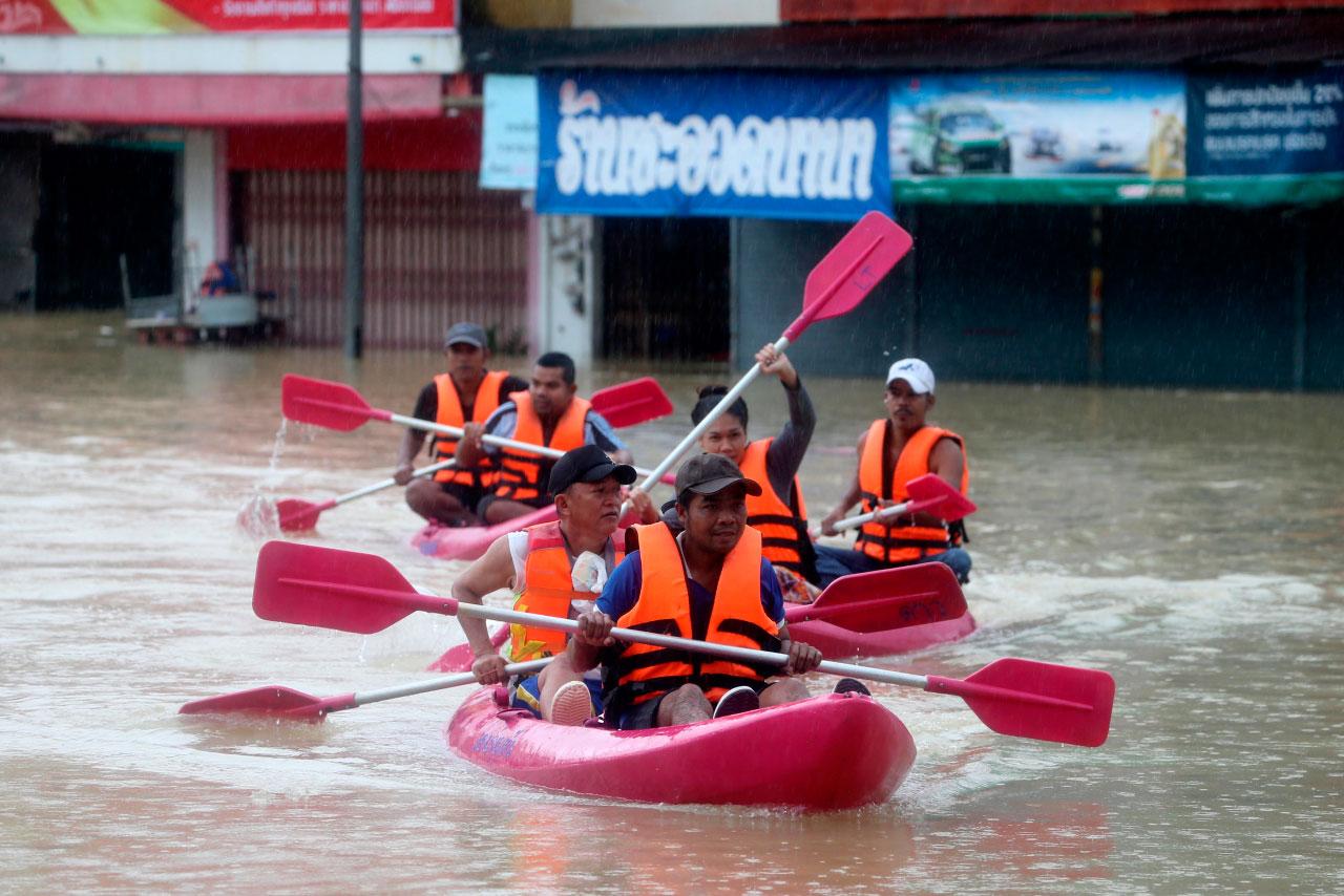 Жертвами наводнения наюге Таиланда стали 12 человек