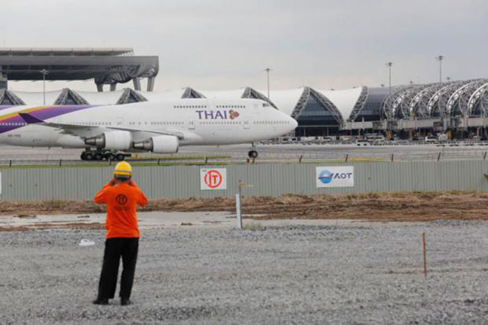 3 марта начинается технический осмотр и ремонт основной взлетно-посадочной полосы аэропорта Суварнабхуми