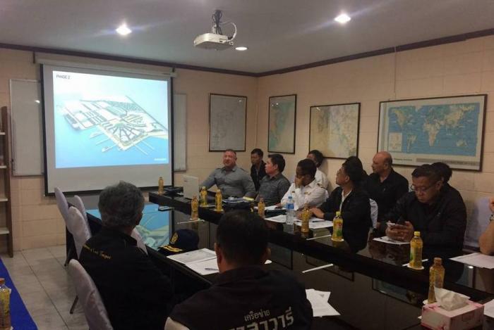 Конференция Минтранса и министерства морского транспорта на Пхукете. Фото Phuket Gazette