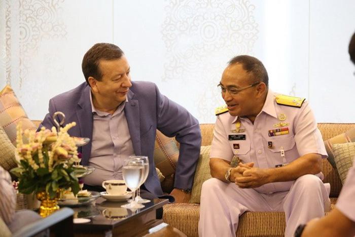 Парадную колонну вчесть 50-летия АСЕАН возглавит корабль ВМФ Российской Федерации