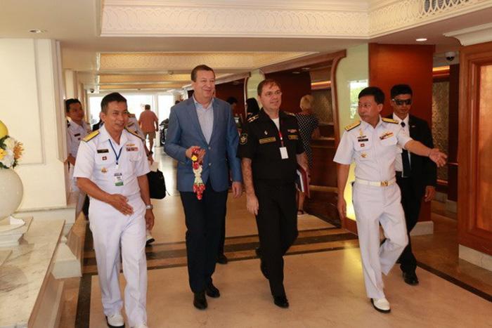 Отряд кораблей Тихоокеанского флота завершил визит вТаиланд