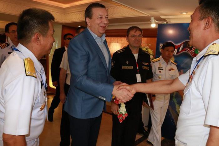 Корабль «Адмирал Пантелеев» возглавит колонну напараде вчесть 50-летия АСЕАН