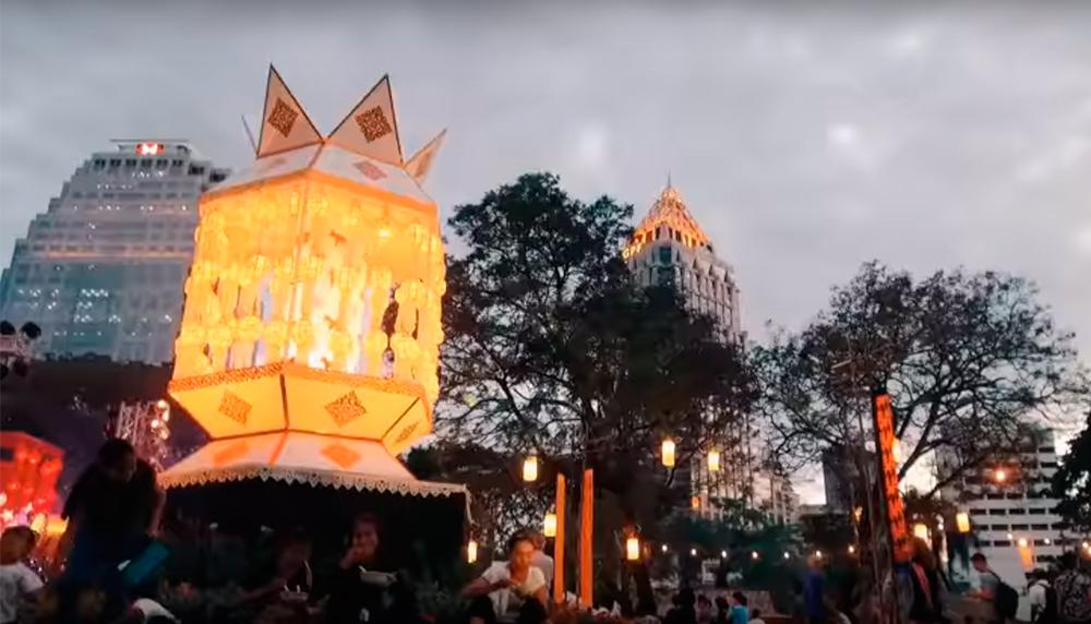 Традиционно фестиваль туризма Тайланда проводится в середине января в парке Люмпини в Бангкоке. Фото TTF в 2017 году
