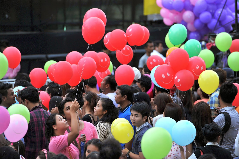 Таиланд, Фестиваль счастья. Фото Enrdhi