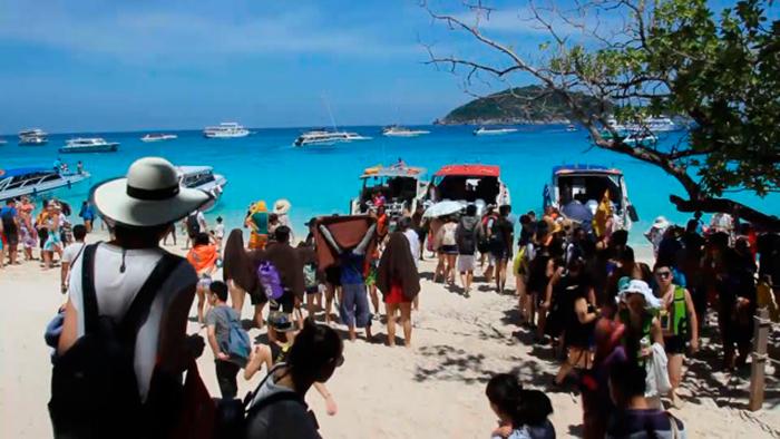 Симиланские острова. Фото 4 мая Phuket Gazette