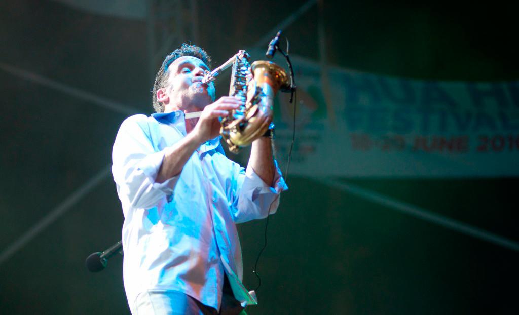 Международный джазовый фестиваль в Хуа Хине в 2014 году