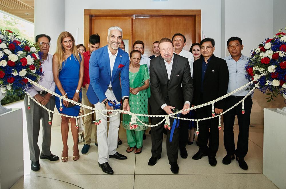 Церемония открытия Почётного Консульства России на Самуи. Фото Пресс-центра Посольства РФ в Таиланде