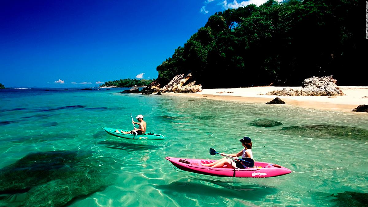 Пляжи Транга. Фото CNN