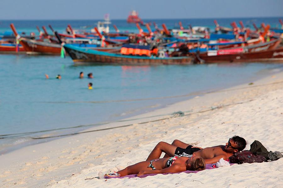 Ко Липе остров в Андаманском море