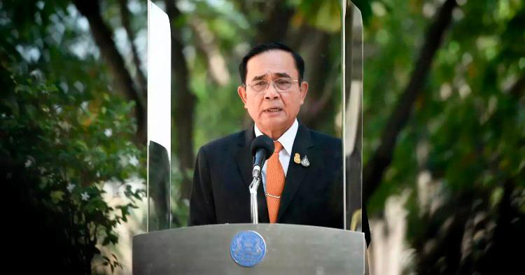 Выступление Премьер-министра Таиланда на заседании Комитета по биоциркулярной экономике. Фото Pattaya Mail