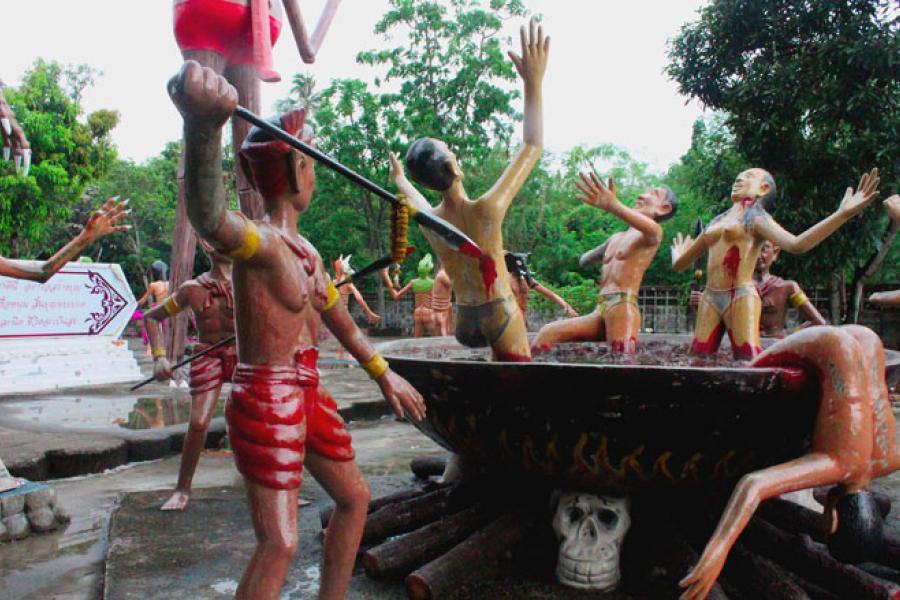 Музей в Паттайе буддийского ада