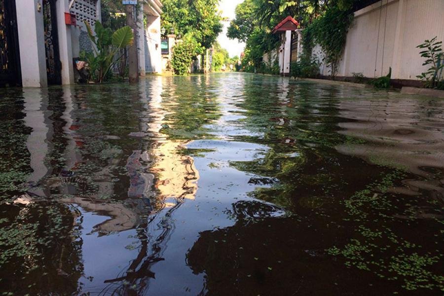 Подводный город: Нельзя сказать, что Бангкок затоплен, но требуется время, чтобы вода могла стечь