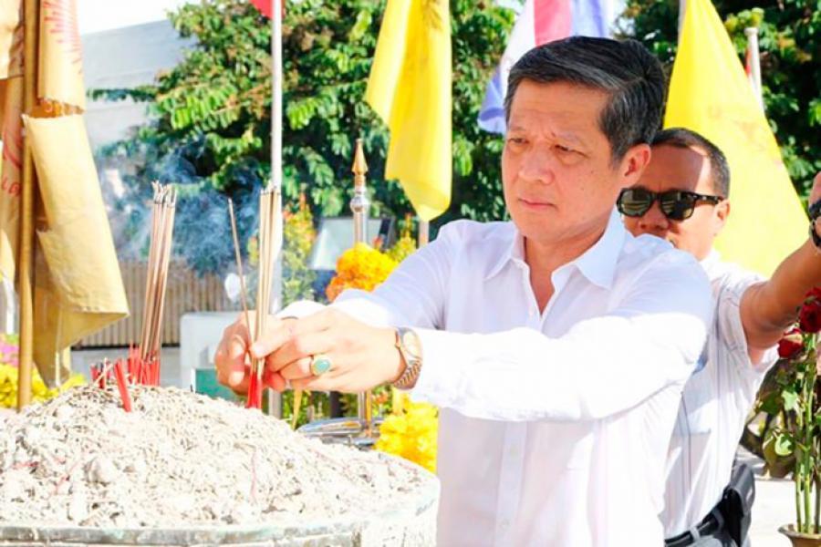 Новый мэр Паттайи г-н Чанатпонг Шривисет