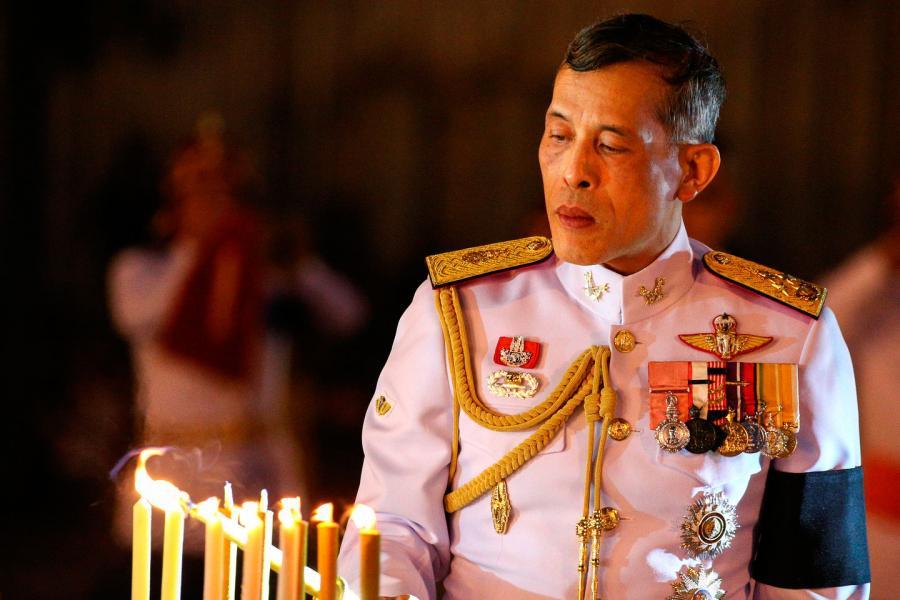 Владимир Путин поздравил Его Величество Маху Вачиралонгкорна с началом царствования