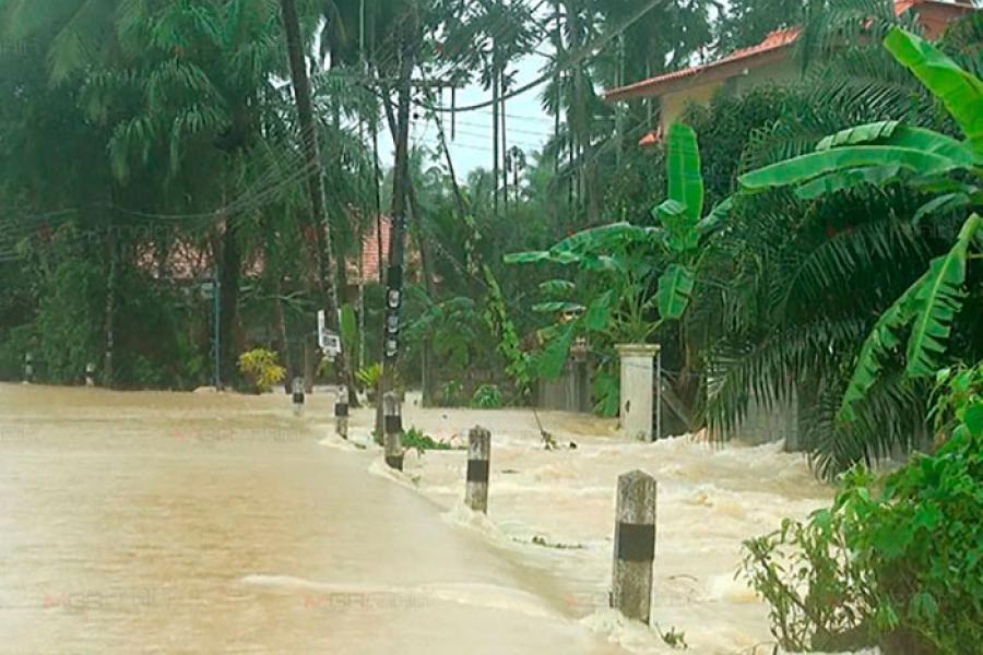Сильные ливни на юге Тайланда
