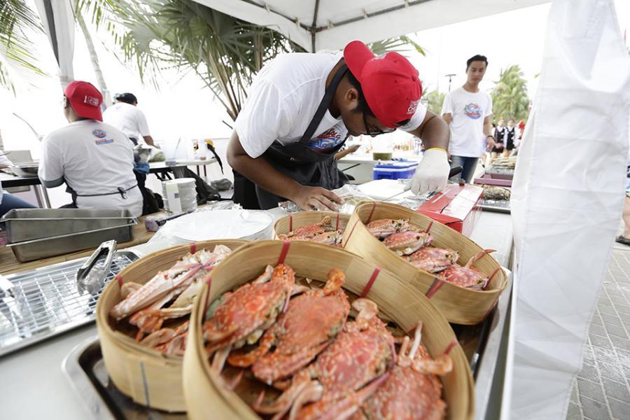 Фестиваль морепродуктов в Паттайе 2016