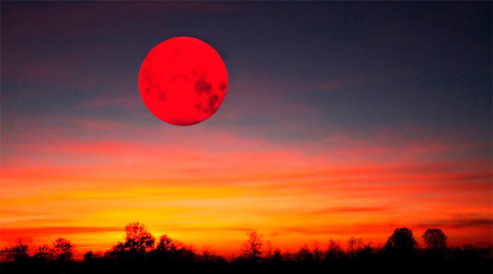 Картинки по запросу Полное лунное затмение