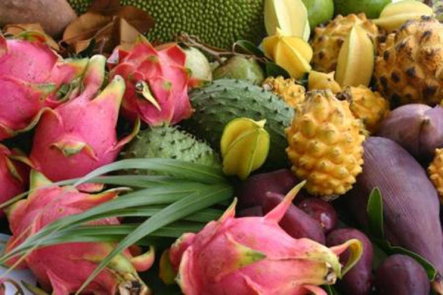 плоды тропические фото