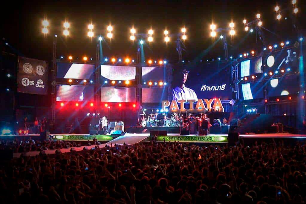 Музыкальный фестиваль: вечеринка